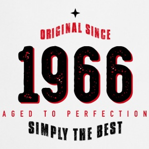original since 1966 simply the best 50th birthday - Kochschürze