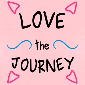 Love the Journey Schultertasche - Frauen Premium T-Shirt