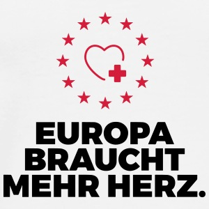Europe needs more heart! Other - Men's Premium T-Shirt