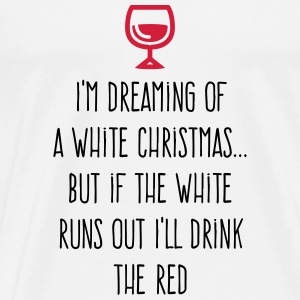I m dreaming of a white Christmas Sports wear - Men's Premium T-Shirt
