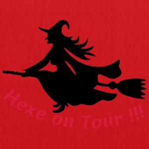 Hexe-on-Tour T-Shirts - Stoffbeutel