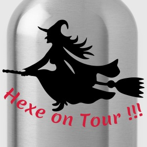 Hexe-on-Tour T-Shirts - Trinkflasche