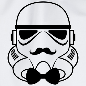 Star Wars Stormtrooper Hipster Shirt 2 - Turnbeutel