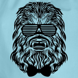 Start Wars Chewbacca Hipster Shirt green/yellow - Turnbeutel