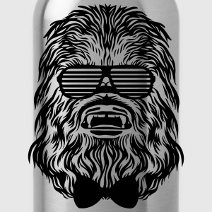 Diva blue Chewbacca hipster T-Shirts - Water Bottle