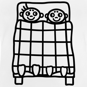 Couple bed Shirts - Baby T-Shirt