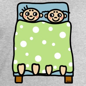 Couple bed stories T-Shirts - Men's Sweatshirt by Stanley & Stella