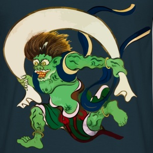 Fuujin - God of Wind Hoodies & Sweatshirts - Men's T-Shirt
