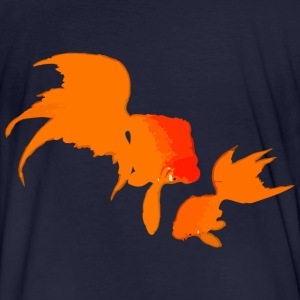 Japanese Gold Fishes Sweaters - Mannen Bio-T-shirt