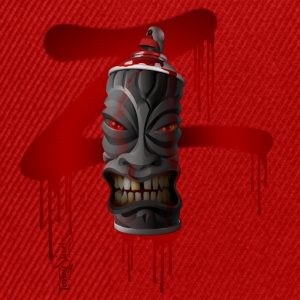 SPRAY-A-TIKI (dd_z01-red) Tee shirts - Casquette snapback