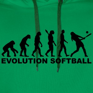 Evolution Softball T-Shirts - Männer Premium Hoodie