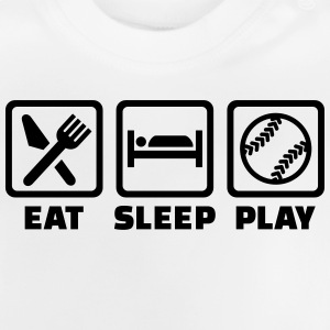 Eat sleep Softball T-Shirts - Baby T-Shirt