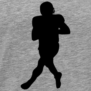 Football player Langarmshirts - Männer Premium T-Shirt