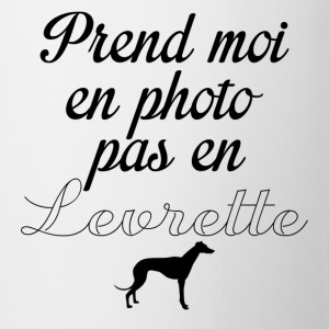 levrette photo  - Tasse