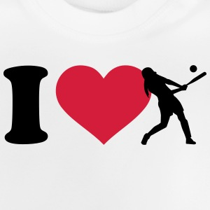 I love Softball T-Shirts - Baby T-Shirt