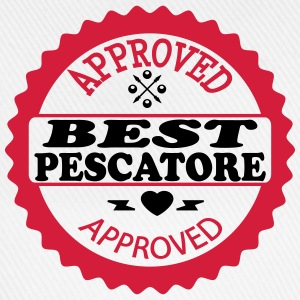 Approved best pescatore Camisetas - Gorra béisbol