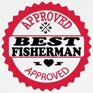 Approved best fisherman T-Shirts - Baseball Cap