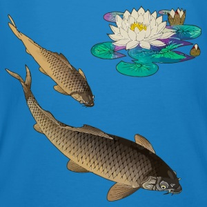 Kois with water lily Bags & Backpacks - Men's Organic T-shirt