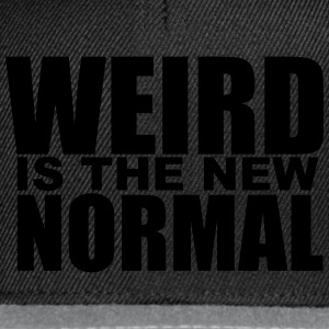 Weird is the new Normal T-Shirts - Snapback Cap