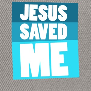 Jesus Saved Me T-Shirts - Snapback Cap