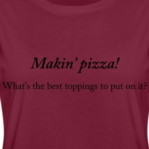 Makin' pizza - Women's Oversize T-Shirt