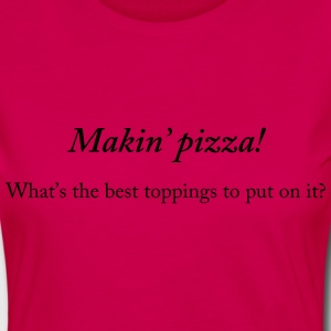 Makin' pizza - Women's Premium Longsleeve Shirt