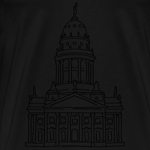 French Cathedral Berlin Hoodies & Sweatshirts - Men's Premium T-Shirt