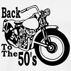 Back to the 50's ML - T-shirt Premium Homme