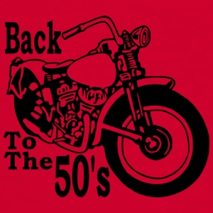 Back to the 50's Cask - T-shirt contraste Homme