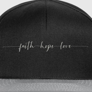 Faith - Hope - Peace - Snapback Cap