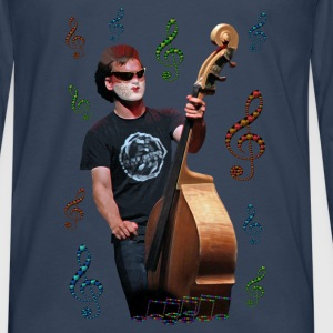 Musician playing cello - T-shirt manches longues Premium Homme