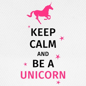 keep calm and be a unicorn Tee shirts - Casquette classique