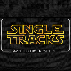 Single Tracks - May the course be with you - Kids' Backpack