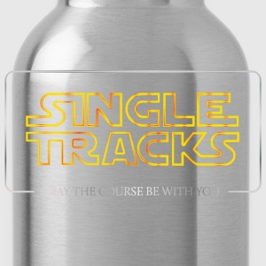 Single Tracks - May the course be with you - Water Bottle