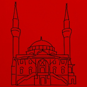 Sehitlik Mosque Berlin T-Shirts - Contrast Colour Hoodie