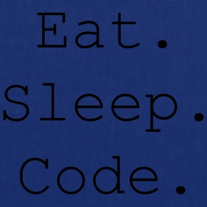 Eat. Sleep. Code. - Stoffbeutel