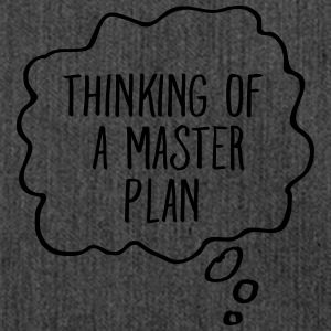 Thinking Of A Master Plan T-Shirts - Schultertasche aus Recycling-Material