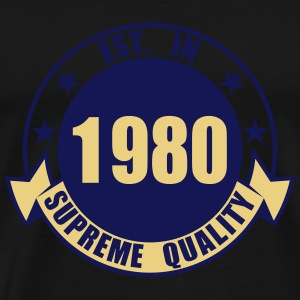 1980 Supreme Topper - Premium T-skjorte for menn