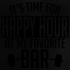 it's time for happy hour at my favorite bar A 1c Camisetas - Camiseta bebé