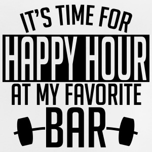 it's time for happy hour at my favorite bar A 1c Skjorter - Baby-T-skjorte