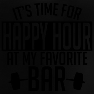 it's time for happy hour at my favorite bar A 1c Tee shirts - T-shirt Bébé