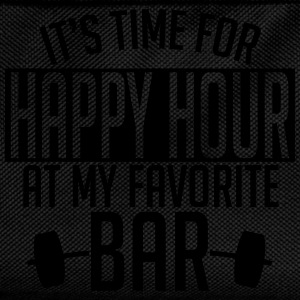 it's time for happy hour at my favorite bar A 1c Sweaters - Rugzak voor kinderen
