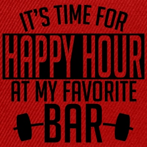 it's time for happy hour at my favorite bar A 1c Shirts - Snapback Cap