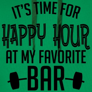 it's time for happy hour at my favorite bar B 1c T-shirts - Premiumluvtröja herr