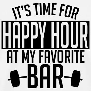 it's time for happy hour at my favorite bar A 1c Sports wear - Men's Premium T-Shirt