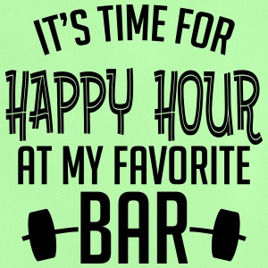 it's time for happy hour at my favorite bar B 1c Tee shirts - T-shirt Bébé