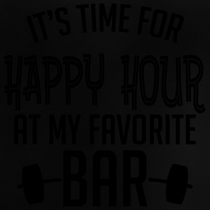 it's time for happy hour at my favorite bar B 1c Camisetas - Camiseta bebé