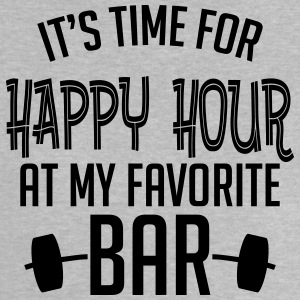 it's time for happy hour at my favorite bar B 1c T-shirts - Baby-T-shirt