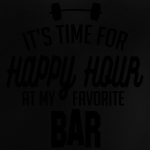 it's time for happy hour at my favorite bar C 1c Skjorter - Baby-T-skjorte