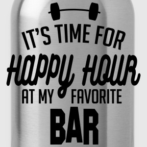 it's time for happy hour at my favorite bar C 1c Sweatshirts - Drikkeflaske